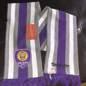 Mitchell & Ness Orlando City MLS Soccer Scarf